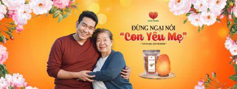 Ngày phụ nữ Việt Nam - quà đá muối Lovestone